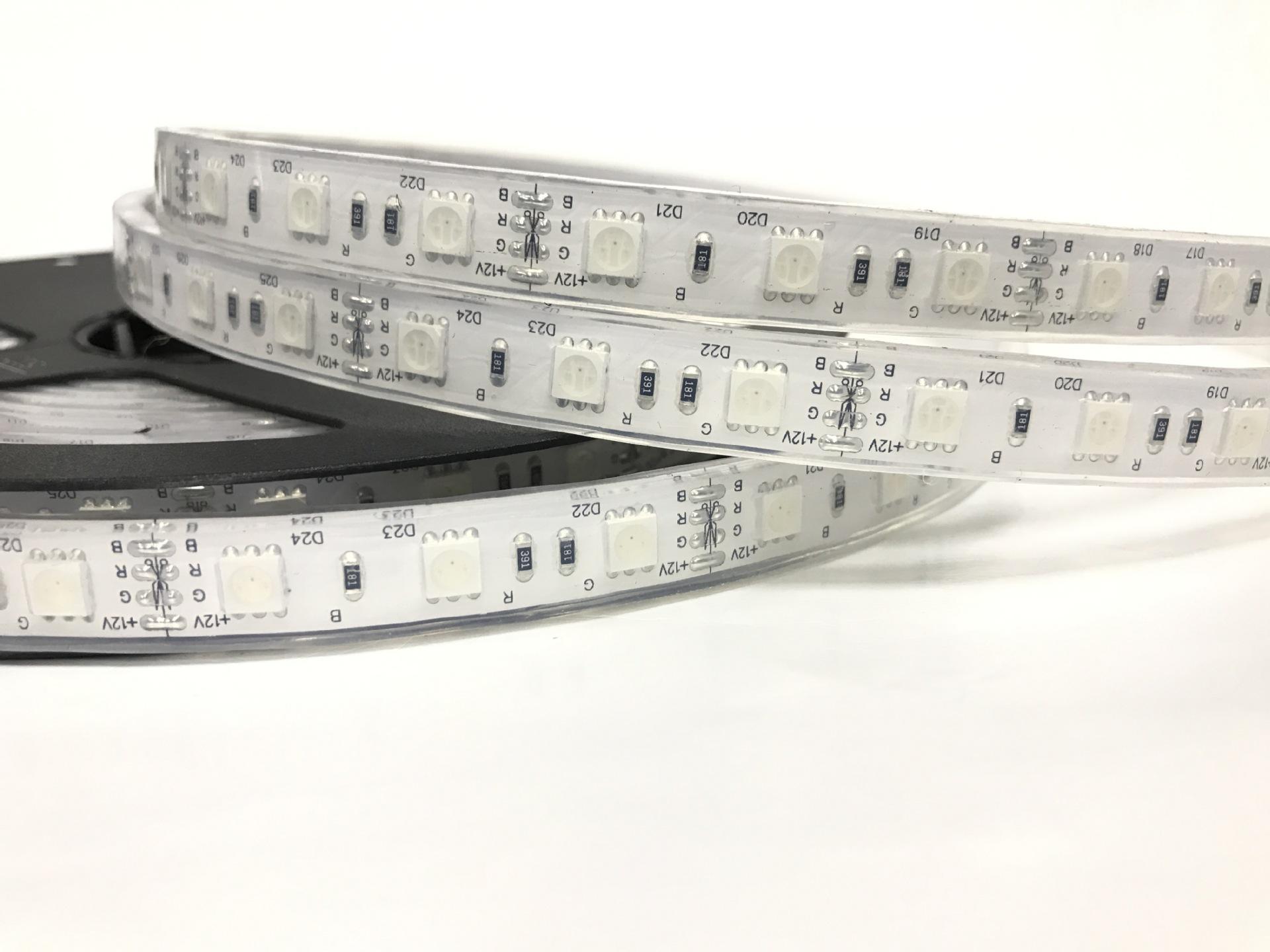 LED dây 12v chống nước IP68 RGB 5050 siêu sáng cao cấp TLD-12V-60P