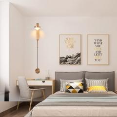 Đèn đọc sách điều chỉnh sáng gắn đầu giường trang trí LED hiện đại 9w cao cấp TL-DSM01