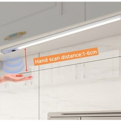 Đèn LED thanh nhôm 12v 30cm cảm biến vẫy tay lắp tủ quần áo, tủ bếp cao cấp TL-TBV-01