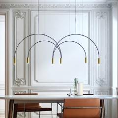 Đèn thả trần LED trang trí bàn ăn Bắc Âu TL-BA-04