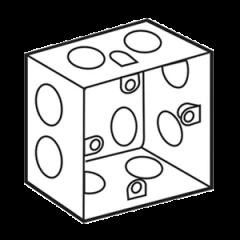 Đế âm sắt loại sâu dùng cho mặt vuông Sino S157S