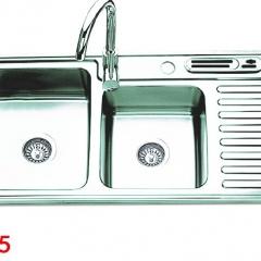 Chậu rửa bát Inox SUS 201 S9245 OLYMPIC