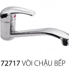 Vòi chậu rửa bát 1 lỗ nóng lạnh cao cấp Joden 72717