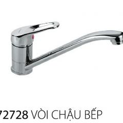 Vòi chậu rửa bát 1 lỗ nóng lạnh cao cấp  JODEN 72728