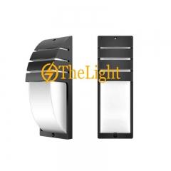 Đèn led ốp tường hiện đại ngoài trời IP65 12w vỏ đen DHT-6809