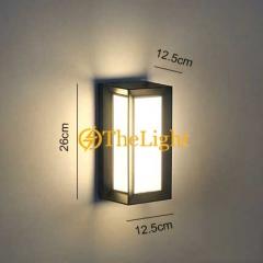 Đèn tường led 12w ngoài trời hiện đại TL-DTLED10W-BD