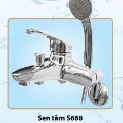 Sen tắm nóng lạnh cao cấp Olympic Model S668