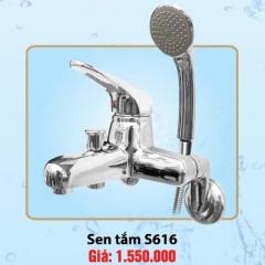 SEN TẮM NÓNG LẠNH CAO CẤP OLYMPIC TAY ĐẶC MODEL S616