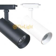 Đèn rọi thanh ray led Chip COB 30w SPL 80180
